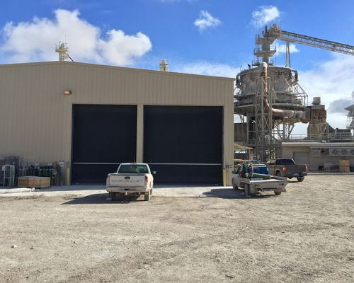 Graymont Lime Production – exterior
