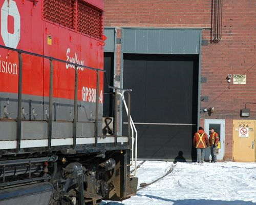 Inco Locomotive Facility Sudbury ON