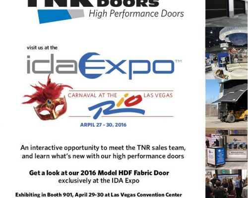 Join TNR Doors for Cocktails at the IDA Expo