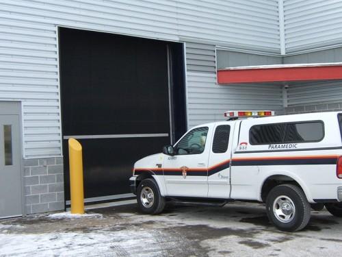 High Speed Rubber Roll Up Industrial Door from TNR
