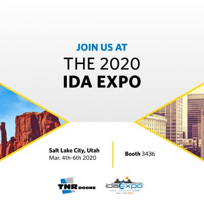 Join TNR Doors At The IDA EXPO 2020