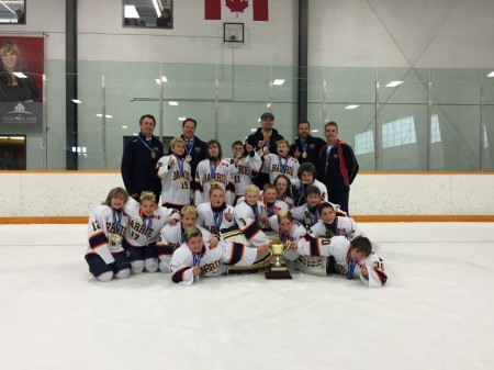 Our sponsored rep team: Barrie Colts – (Atom AE) are Champions!