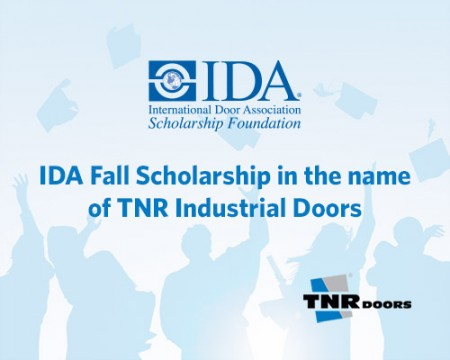 TNR Doors – IDA Scholarship Foundation Announcement